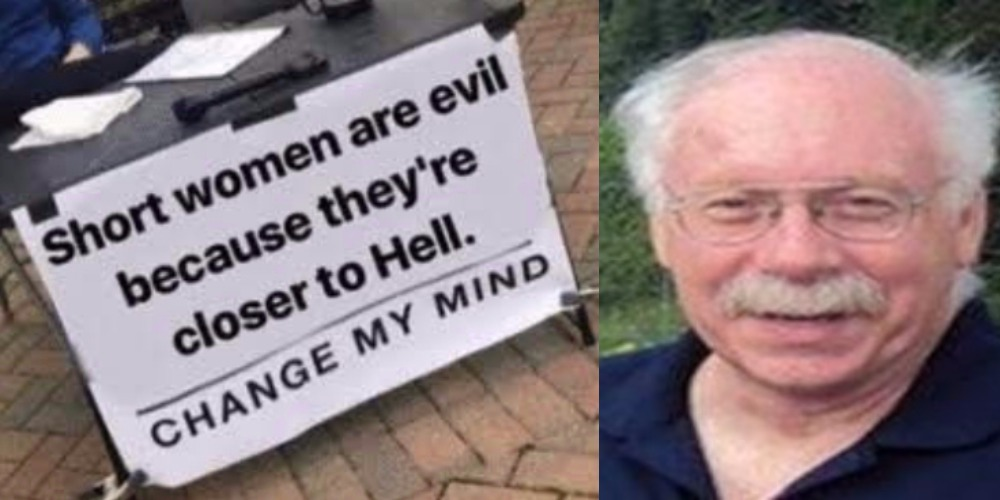 """Short Women Are Evil"" - Says 71-Year-Old Man Who Dated 100 Women In His Lifetime 1"