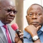 Oshiomhole Remains Suspended Until He Apologises 'Remorsefully' To APC - Gov. Obaseki 31