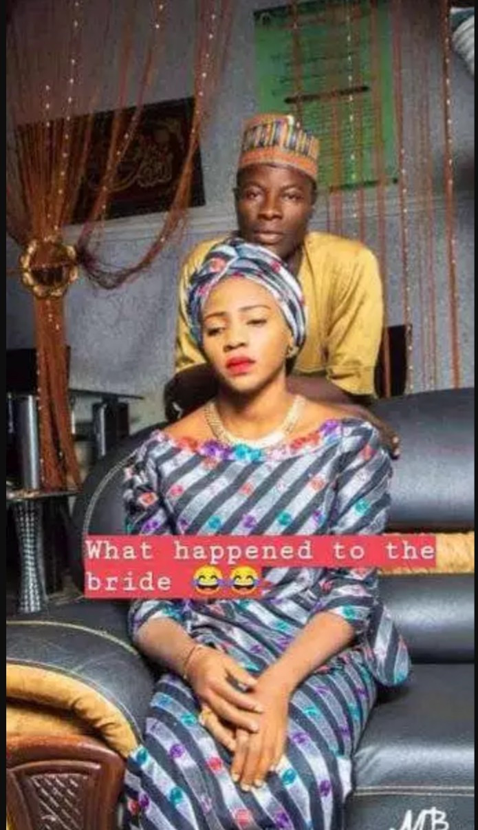 Viral Photos Of Beautiful Bride Looking Very Angry In Her Pre-Wedding Pictures 2