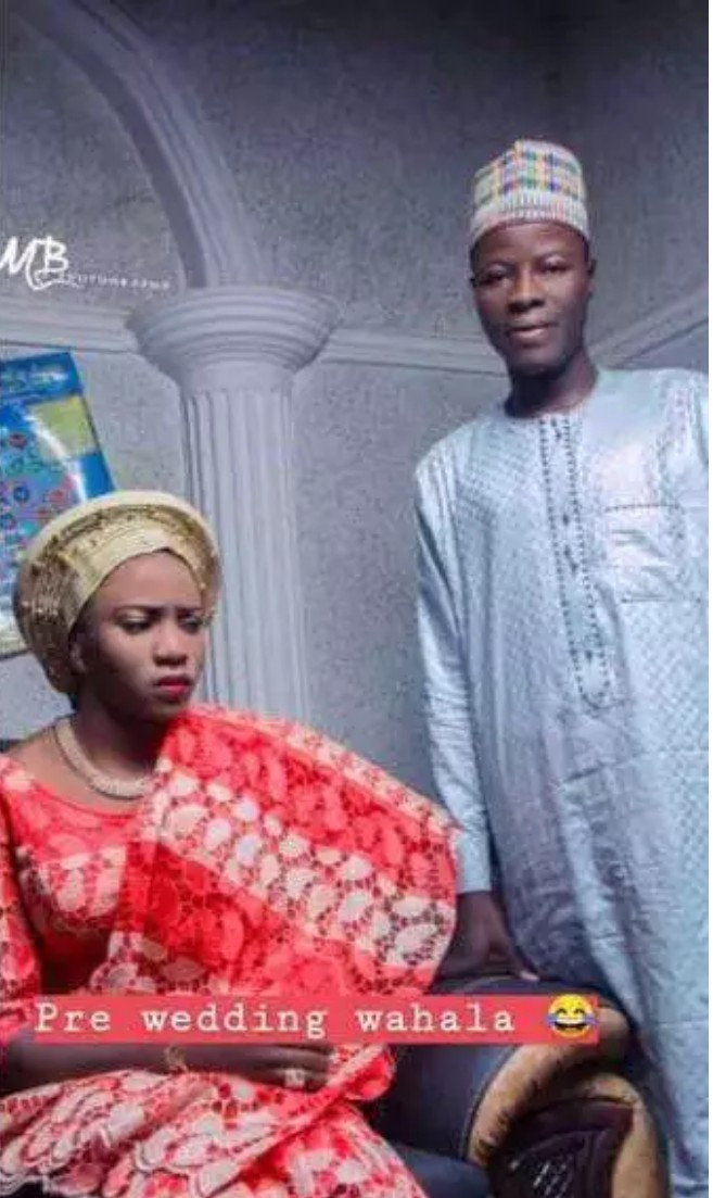 Viral Photos Of Beautiful Bride Looking Very Angry In Her Pre-Wedding Pictures 3
