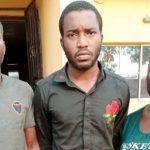 Police Arrests Man Who Butchered His Girlfriend, Eat Her heart With His Mother For Money Ritual 27