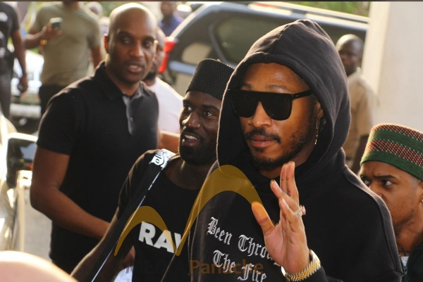 American Rapper, Future Arrives Lagos With His Rumoured Girlfriend, Lori Harvey [Photos] 1