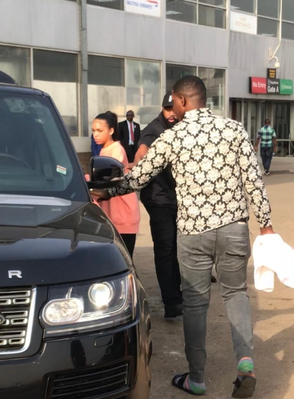 American Rapper, Future Arrives Lagos With His Rumoured Girlfriend, Lori Harvey [Photos] 2