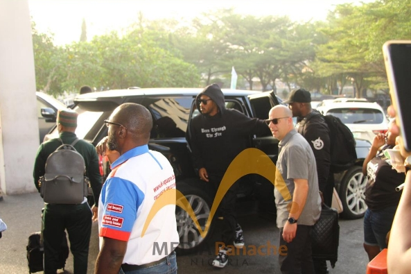 American Rapper, Future Arrives Lagos With His Rumoured Girlfriend, Lori Harvey [Photos] 3