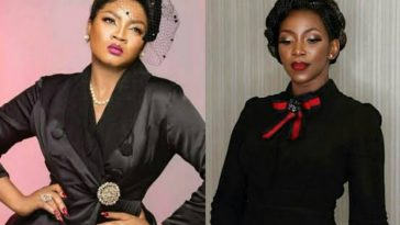 Omotola Jalade-Ekeinde Reacts To Claim That She And Genevieve Nnaji Are Sworn Enemies 5