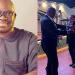 """Go Hug Transformer"" – Fayose Replies Those Mocking Him For Dancing With Strange Woman 29"