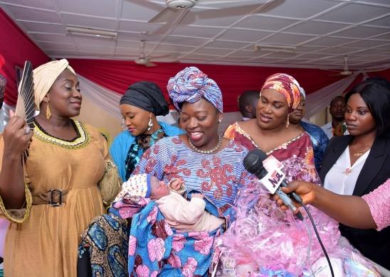 Muhammad Sani: Aisha Buhari Welcomes Nigeria's First Baby Of 2020 In Abuja [Photos] 1