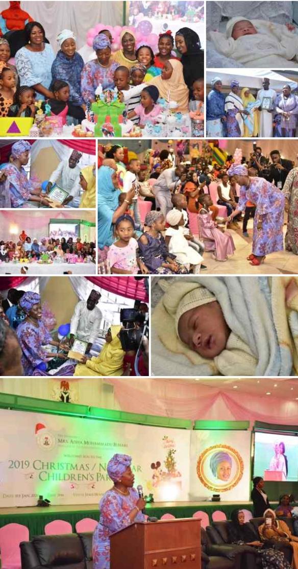 Muhammad Sani: Aisha Buhari Welcomes Nigeria's First Baby Of 2020 In Abuja [Photos] 2
