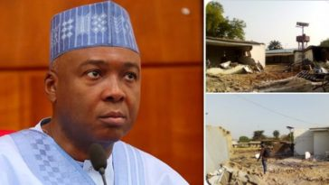 """Kwara State Government Demolishes Bukola Saraki's Family House """"Ile Arúgbó"""" [Photos] 5"""