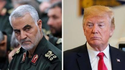 Iran's General Qasem Soleimani Killed At Baghdad Airport Following Order By US President Trump 1
