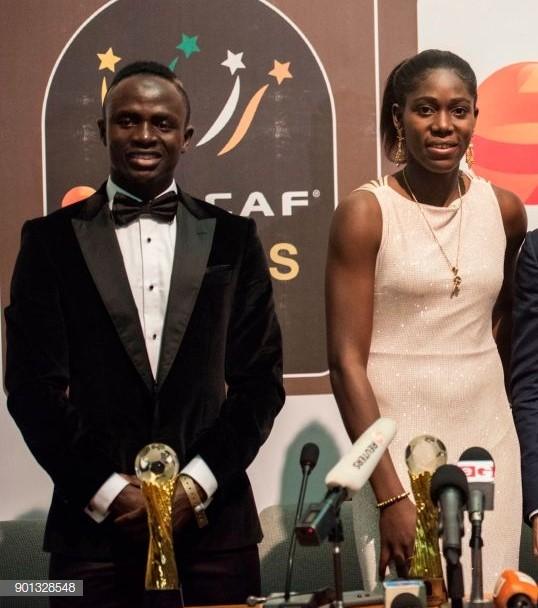 CAF Awards 2019: Sadio Mane And Asisat Oshoala Wins African Footballer Of The Year 1