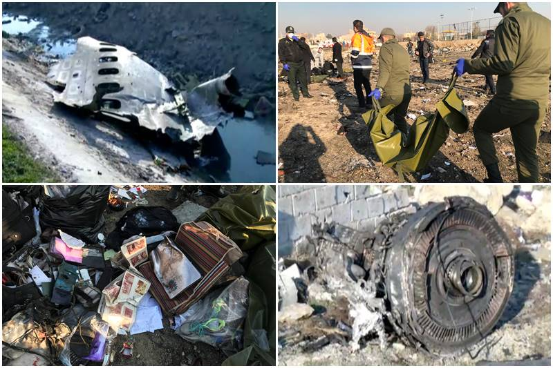 Ukrainian International Airlines Plane Crashes In Iran, All 176 Passengers Onboard Killed 3