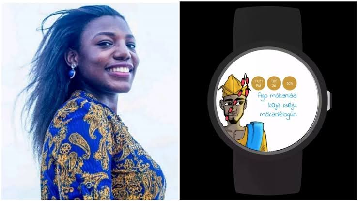 Nigerian Lady, Moyinoluwa Adeyemi Built Android App That Tells Time In Yoruba Dialect 1