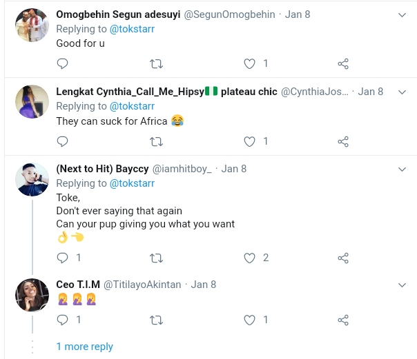 Nigerians Attacks Toke Makinwa For Claiming She Loves Her Dog More Than Humans 3