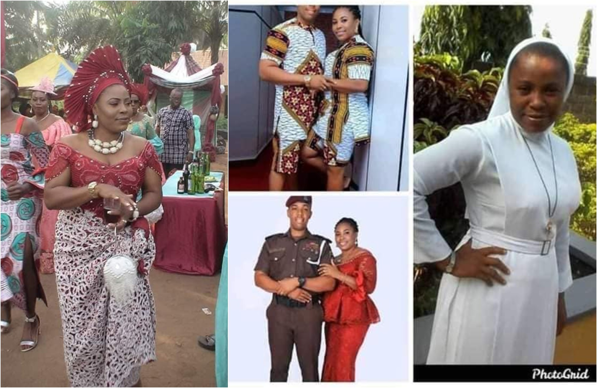Catholic Reverend Sister Dumps Her Religious Devotion To Marry A Police Officer [Photos] 1