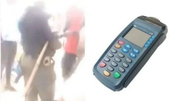 Policeman Seen With POS Machine On Highway, Demanding ATM Card From Nigerians [Video] 5