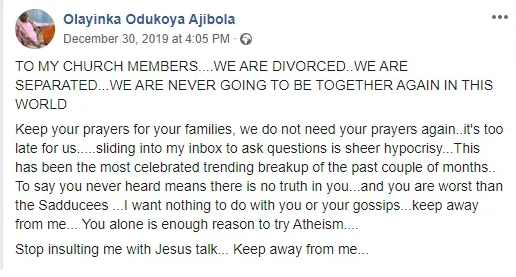 Nigerian Man Publicly Disowns His Child And Ex-wife After She Sold His Properties To Church Members 3