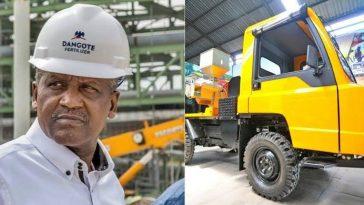 Aliko Dangote Shuns Innoson Motors, Orders 10,000 Trucks From Indonesia 1
