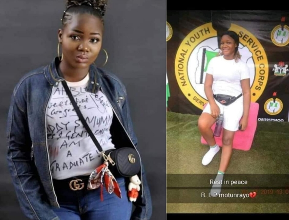 """Life Not Worth Living In This World"" - NYSC Member Says As She Commits Suicide In Enugu 1"
