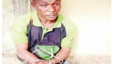 Man Blames Devil After Cutting Off His Mother's Head, Smashing Her Skull With Hammer In Imo 1
