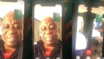 Watch Leaked Romantic Video Call Between Ghana's Security Minister And His Alleged Side Chic 12