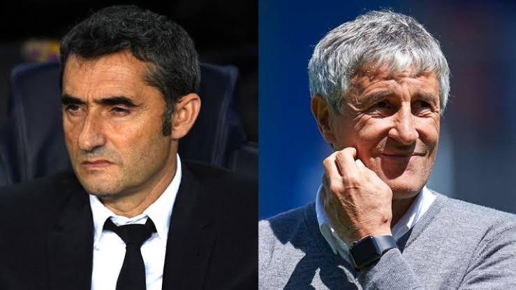 Barcelona Sacks Ernesto Valverde, Appoints Quique Setien As New Head Coach 1