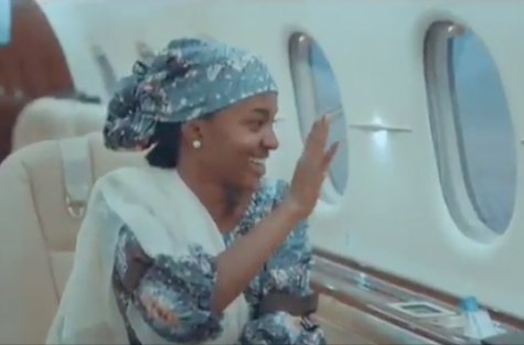 Hanan Buhari Flying On Presidential Jet To Bauchi Is An Inspiration To Nigerian Youths - MURIC 1