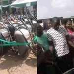 Outrage As Enugu Local Government Chairman Empowers Youths With Wheelbarrows [Photos] 27