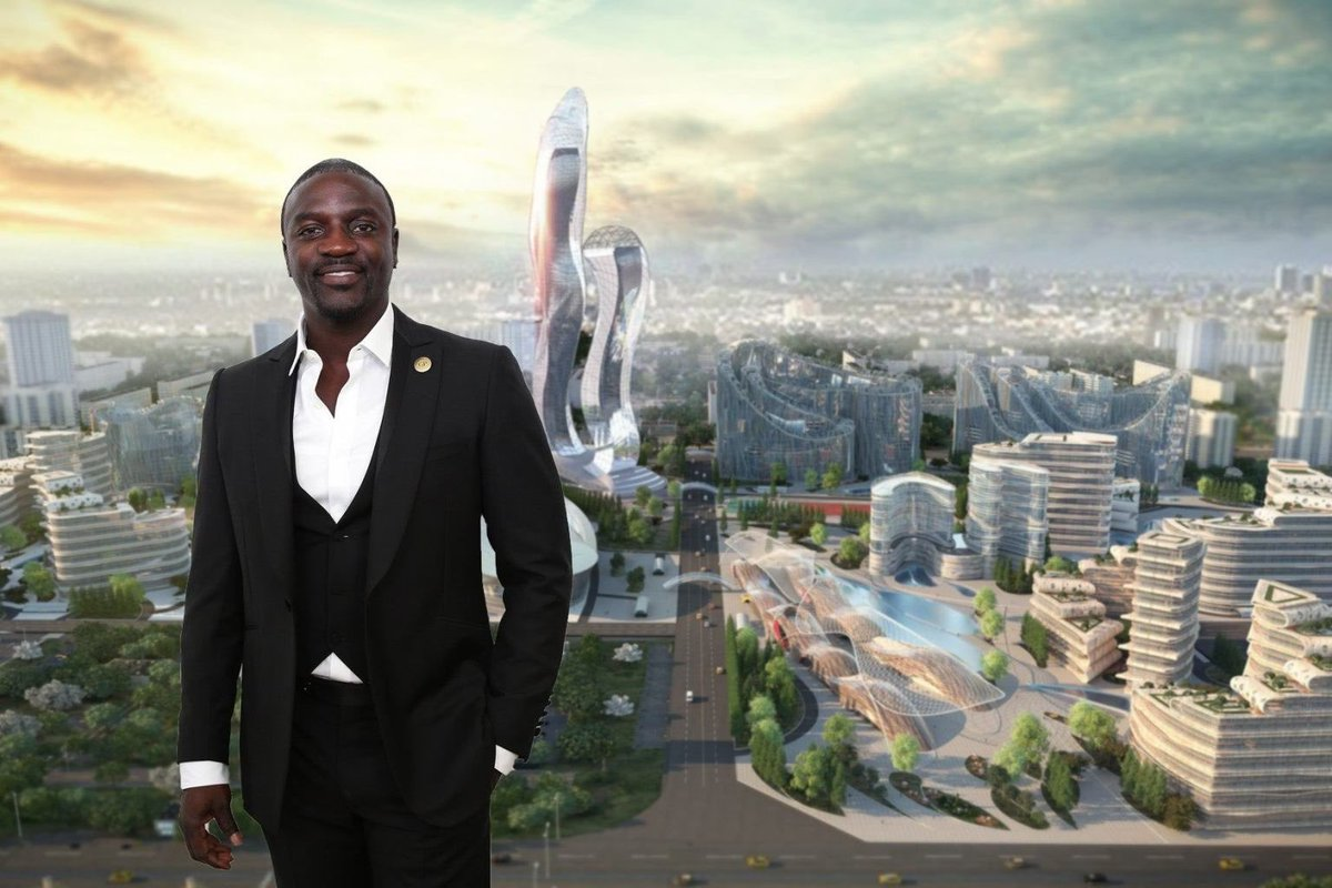 Akon Announces Finalization Of Agreement To Build His Own City In Senegal Called 'Akon City' 1