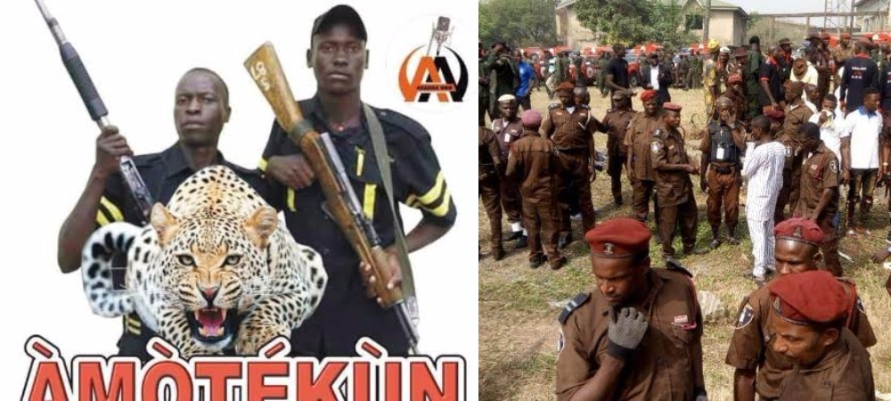 Outrage As Federal Government Declares South-West Security Force 'Amotekun' Illegal 1