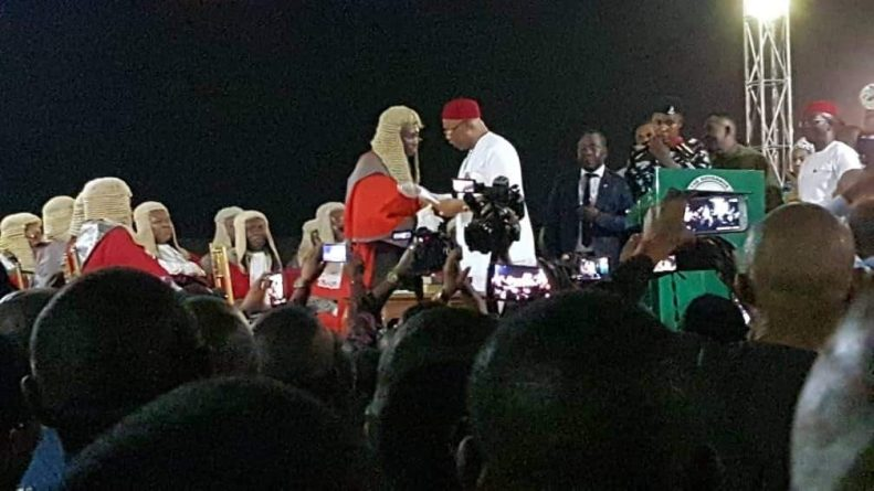 Senator Hope Uzodimma Sworn In As Executive Governor Of Imo State - BREAKING NEWS 2