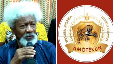"""Amotekun Is Going Nowhere, It Has Come To Stay"" – Wole Soyinka Tells Buhari's Government 7"
