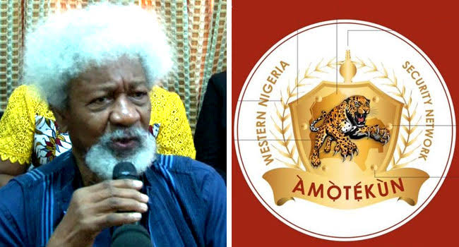 """""""Amotekun Is Going Nowhere, It Has Come To Stay"""" – Wole Soyinka Tells Buhari's Government 1"""