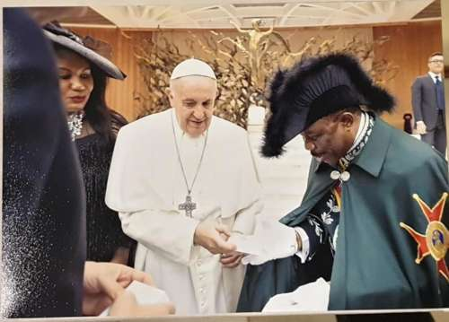 Pope Francis Honours Anambra Governor, Willie Obiano With Knight Title In Vatican City [Photos] 3