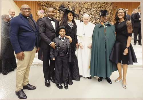 Pope Francis Honours Anambra Governor, Willie Obiano With Knight Title In Vatican City [Photos] 5