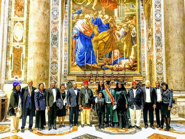 Pope Francis Honours Anambra Governor, Willie Obiano With Knight Title In Vatican City [Photos] 7