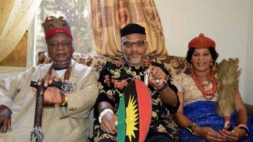 Igbo Group Warns IPOB Leader, Nnamdi Kanu Against Attending His Parents Burial On Friday 3