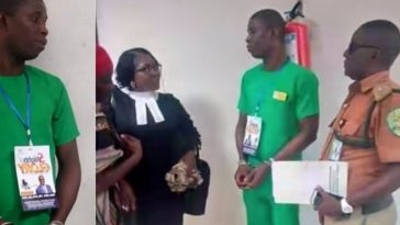 PH Serial Killer, Gracious David-West Spotted Wearing Church Tag Inside Courtroom [Photos] 4