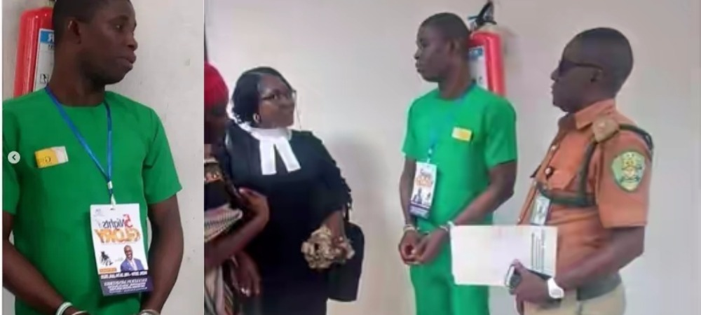 PH Serial Killer, Gracious David-West Spotted Wearing Church Tag Inside Courtroom [Photos] 1