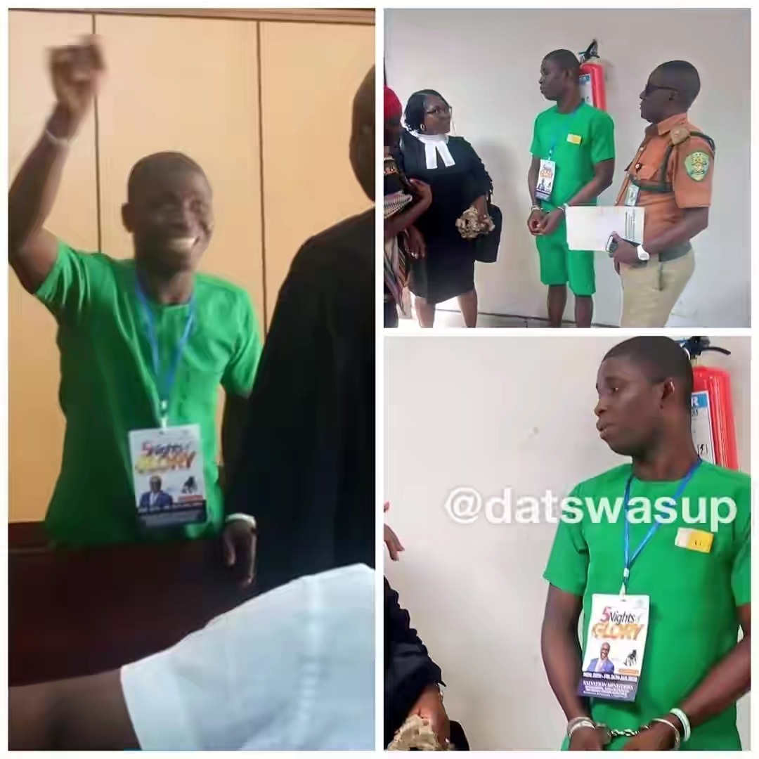 PH Serial Killer, Gracious David-West Spotted Wearing Church Tag Inside Courtroom [Photos] 2