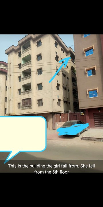 Man Allegedly Throws Down His Pregnant Girlfriend From 5th Floor Apartment In Anambra 2