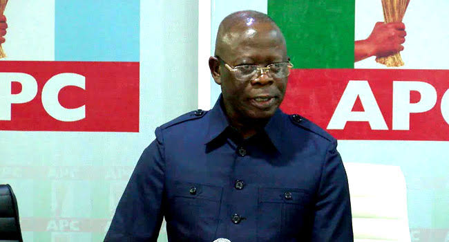 """APC Will Not Be In Power Forever"" - Oshiomhole Speaks On Supreme Court Judgement 1"