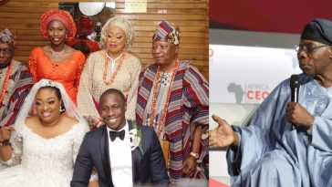 """My Son's Crashed Marriage Has Nothing To Do With Me"" – Former President, Obasanjo 3"