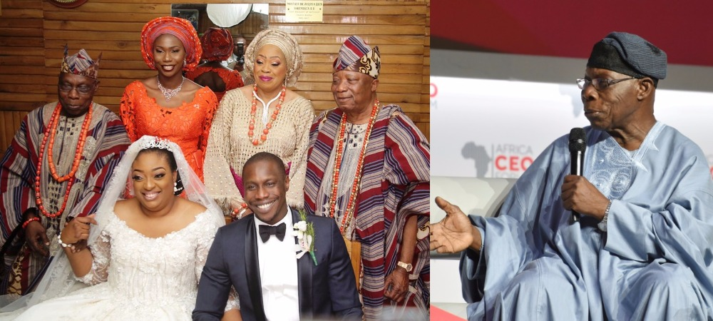 """""""My Son's Crashed Marriage Has Nothing To Do With Me"""" – Former President, Obasanjo 1"""