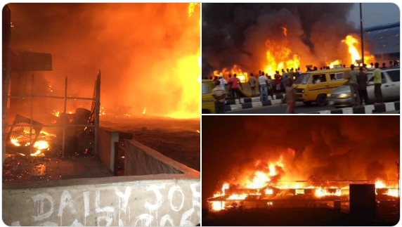 People Confirmed Dead As Vandalized NNPC Pipeline Explodes In Abule Egba, Lagos [Photos/Video] 1