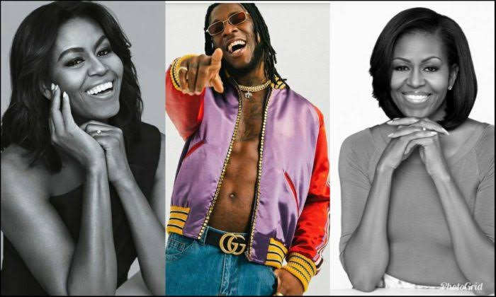 """Burna Boy's Song Gives Me Extra Workout Boost"" - Former US First Lady, Michelle Obama 1"