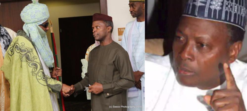 Emir Sanusi Asked Osinbajo To Make Him His Vice If Buhari Die In London - Junaid Mohammed 1
