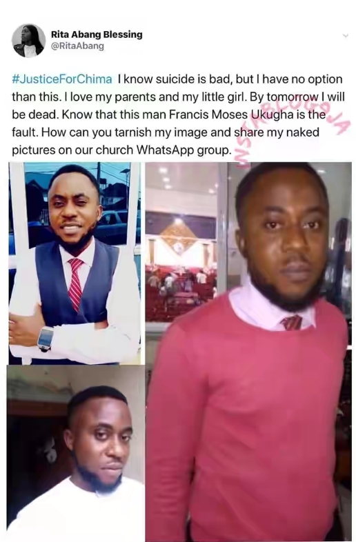 Lady Saved From Committing Suicide After Pastor Shared Her Nude Photos In Church's Whatsapp Group 2