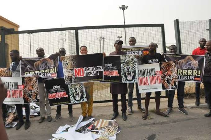 """Malami Ordered Police To Stop Amotekun Protest In South West"" - Yoruba Group Alleges 2"