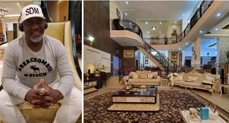 """""""Don't Ask Me How"""" - Senator Dino Melaye Says As He Shows Off His New Luxurious Home [Photos] 1"""